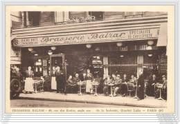75005 - PARIS - Brasserie Balzar - 9 Rue Des Ecoles - Angle Rue De La Sorbonne - Maison LIPP Cafe Restaurant - Arrondissement: 05
