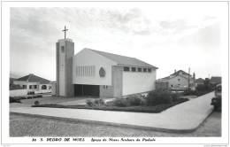 Portugal - Sao Pedro De Moel (Marinha Grande) - Igreja Em 1963 - Leiria