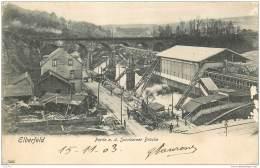 Allemagne - Elberfeld - Partie Sonnborner Brucke 1903 - Wuppertal