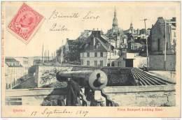 Canada - Quebec - From Rampart Looking East 1907 - Québec - La Citadelle