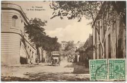Algerie - Tiaret - La Rue Beaupretre (camion) 1927 - Tiaret