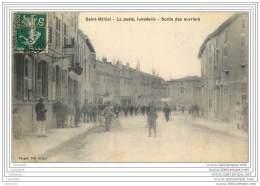 55 - SAINT MIHIEL - La Poste, Lunetterie - Sortie Des Ouvriers (animee) - Saint Mihiel