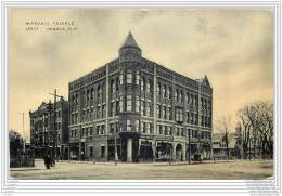 USA - Nashua N.H. - Masonic Temple - Francs-Macons - Nashua