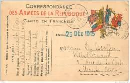 Militaria - Carte De Franchise Militaire - Capitaine De Cavalerie Esnault Pelterie 1915 - War 1914-18