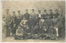 AK Photo - Camp De Prisonniers De Guerre - Gefangenenlager Doeberitz - Soldat Paul Mignot 1915 Avec Cachet - Guerre 1914-18