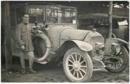 Carte Photo D'une Automobile WW1 - Peut Etre Un Taxi De La Marne ? - Guerre 1914-18
