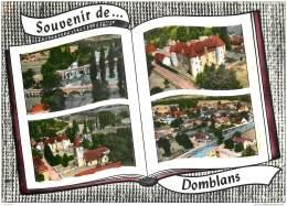 39 - DOMBLANS - Multivues 1962 - France