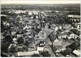 56 - LANOUEE - Vue Aerienne Du Centre 1958 - Autres Communes