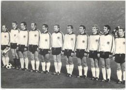 Football - Mundial Mexico 1970 - Equipe D'Allemagne - Deutschland Team - Soccer