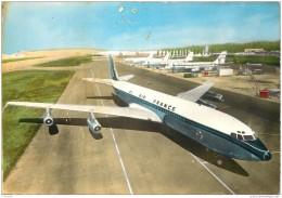 Aviation - Boeing 707 Intercontinental Air France - 1946-....: Era Moderna