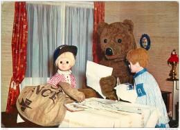 Serie Tele - Lot De 6 Cartes De Nounours Bonne Nuit Les Petits Avec Nicolas Et Pimprenelle 1968 - Séries TV