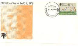 (777) Australia FDC Cover - 1979 - International Year Of Chidren (cancel Tamworth NSW) - FDC