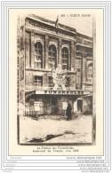 75003 -  VIEUX PARIS  - Le Theatre Des Funambules - Boulevard Du Temple Vers 1859 - Arrondissement: 03