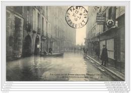 75003 -  PARIS  -  Rue Saint Andre Des Arts Sous L'eau - Crue Seine 1910 - Arrondissement: 03
