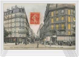 75007 - PARIS - Rue Saint Dominique (angle Avenue De La Bourdonnais) Couleur Animee - Arrondissement: 07