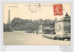 75007 - PARIS - Les Invalides - Les Vieux Canons - Tour Eiffel - Arrondissement: 07