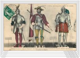 75007 - PARIS - Les Invalides - Musee De L'Armee - Costumes De Guerre : Francois 1er Et Chevalier Bayard - Arrondissement: 07