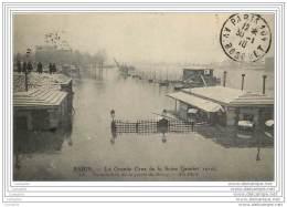 75012 - PARIS - Grande Crue 1910 - INONDATION DE LA PORTE DE BERCY - Arrondissement: 12