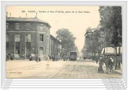 75014 - PARIS - Ecoles Et Rue D'Alesia Prise De La Rue Didot (animee Tramway) - Arrondissement: 14