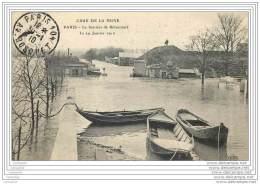 75016 - PARIS - Crue 1910 - La Barriere De Billancourt - Porte Fortifications - Arrondissement: 16