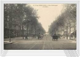 75019 - PARIS - Rue D'Allemagne Et Le Metro (Av. Jean Jaures) - Arrondissement: 19