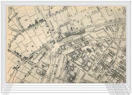 75 - PARIS - Carte Puzzle - Plan Du Vieux Paris - Publie Par Maire En 1808 - Bd St Martin Et Du Temple - France