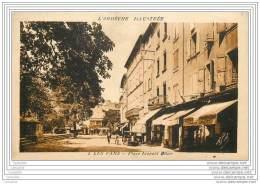 07 - LES VANS - Place Leopold Ollier - Les Vans