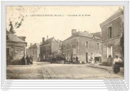 49 - CHEVIRE LE ROUGE - Carrefour De La Poste - France