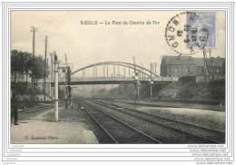 59 - ROEULX - Le Pont Du Chemin De Fer - Andere Gemeenten