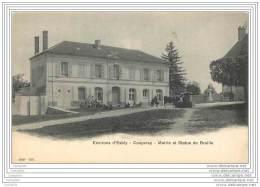 77 - COUPVRAY - Mairie Et Statue De Braille - Other Municipalities