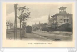 17 - ROYAN - Le Tramway Boulevard Saint Georges - Royan