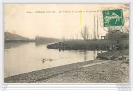 33 - BARSAC - Les Bords De La Garonne A La Jonction... - Francia