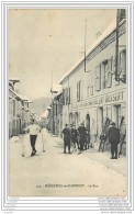 38 - MONESTIER DE CLERMONT - La Rue - Hotel Du Lion D'Or - Skieurs Et Telemark - Otros Municipios