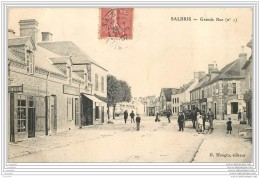 41 - SALBRIS - Grande Rue (animee) - Salbris