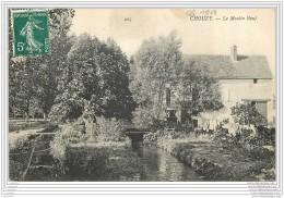 41 - CHOUZY - Le Moulin Neuf - Marque Postale OL  Dans Un Cercle - Francia