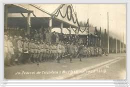 68 - MULHOUSE - Carte Photo Du General De Castelnau En 1919 Pendant Une Revue - WW1 - Mulhouse