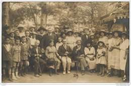 34 - LAMALOU LES BAINS - Carte Photo D'un Groupe De Curistes En 1920 - Lamalou Les Bains