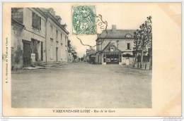 49 - VARENNES SUR LOIRE - Rue De La Gare - France