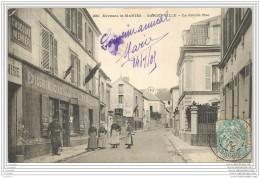 78 - GARGENVILLE - La Grande Rue - Epicerie Mercerie Animee - Gargenville