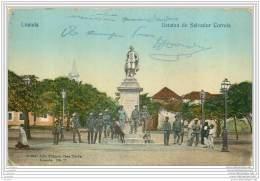 ANGOLA - Loanda - Estatua De Salvador Correia (animada) - Angola