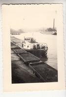 Bâteau Suisse - Péniche - Aak - 1951 - Photo Originale Format 7 X 10 Cm - Boats