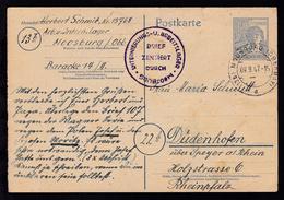 Moosburg OSt. (13b) MOOSBURG (OBERBAY) 09.9.47 + K1  - Deutschland