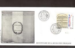 BC6 - Bicentenaire De La Révolution Française 26 AOUT.1989 Sur 2604 - VERSAILLES. - Révolution Française