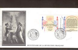 BC6 - Bicentenaire De La Révolution Française 26 AOUT 1989 Sur B2605A - VERSAILLES. - Révolution Française