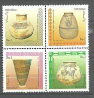 PAKISTAN 1989 ARCHAEOLOGICAL SERIES STAMPS SET MNH - Pakistan