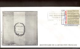 BC6 - Bicentenaire De La Révolution Française 9.11.92  Sur 2603 - LYON. - Révolution Française