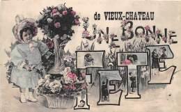 21 - COTE D OR / 214181 - Fantaisie - Bonnes Fêtes De Vieux Château - Autres Communes