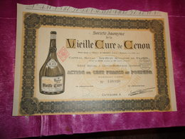 VIEILLE CURE DE CENON (100 Francs) GIRONDE - Actions & Titres