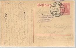 POSTMARKET 1916 SINGEN - Germania