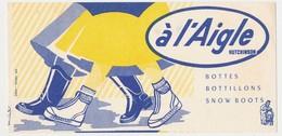 Buvard 21 X 10.2 Bottes Bottillons Snow Boots A L'AIGLE Hutchinson Aiguiseur - Shoes
